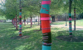 Yarn Bomb the Market Place