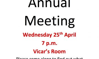 Annual Meeting – FINAL REMINDER