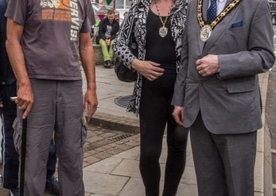 Mayor and Lady Mayoress