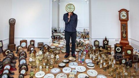 Harrison's Garden – the clocks have arrived!
