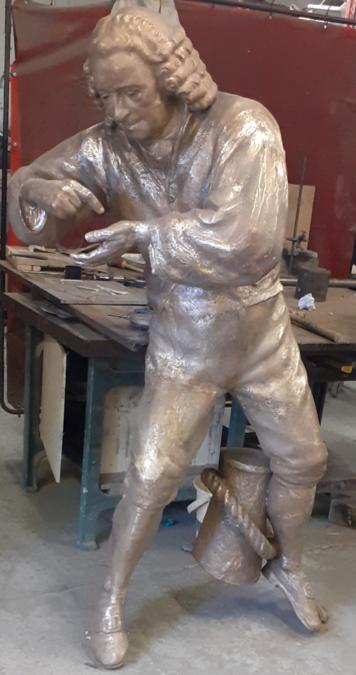 John Harrison Statue